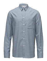 M. Heath Tweed Shirt - AQUATIC ME