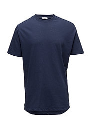 M. Linen Casual Tee - NAVAL