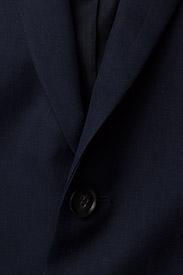 Filippa K - M. Rick Linen Blazer - single breasted blazers - navy - 2