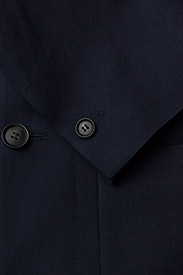 Filippa K - M. Rick Linen Blazer - single breasted blazers - navy - 3