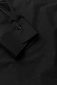 Filippa K - Poplin Dress - short dresses - black - 2