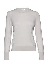 Merino R-neck Sweater - STERLING G