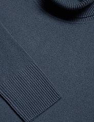 Filippa K - Cashmere Roller Neck Sweater - kashmir - blue grey - 2