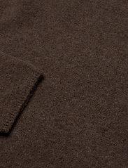 Filippa K - Mika Yak Funnelneck Sweater - turtlenecks - dark taupe - 2