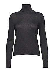 Lurex Roller Neck Sweater