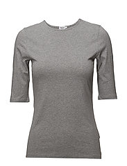 Cotton Stretch Elbow Sleeve - GREY MEL.