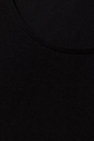 Filippa K - Cotton Stretch Scoop Neck Top - t-shirts - black - 2