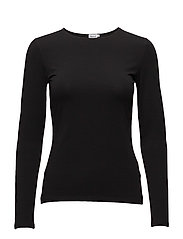 Cotton Stretch Long Sleeve - BLACK