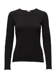 Cotton Stretch Long Sleeve - BLACK