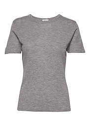 Merino Wool Tee - LIGHT GREY