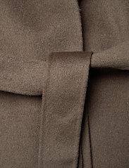 Filippa K - Alexa Coat - uldfrakker - dark taupe - 4