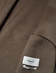 Filippa K - Alexa Coat - uldfrakker - dark taupe - 5