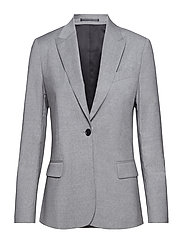 Sasha Cool Wool Blazer - LIGHT GREY