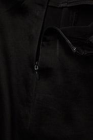 Filippa K - Drapey Satin Skirt - midinederdele - black - 3