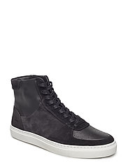 M. Robert High Sneaker - BLACK MIX