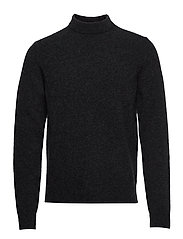 M. Yak R-Neck Sweater - CHARCOAL M