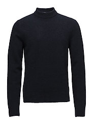M. Yak R-Neck Sweater - NAVY