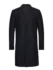 M. Ross Herringbone Coat - HERRINGBON