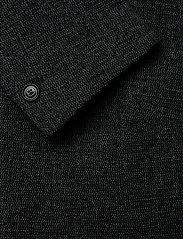 Filippa K - M. Dean Knit Look Jacket - blazers met enkele rij knopen - anthracite - 3