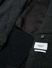 Filippa K - M. Dean Knit Look Jacket - blazers met enkele rij knopen - anthracite - 4