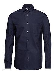M. Tim Oxford Shirt - DEEPWATER