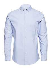 M. Tim Oxford Shirt - LIGHT BLUE