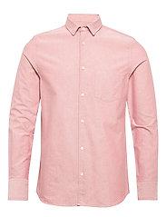 M. Tim Oxford Shirt - PINK CEDAR