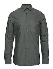 M. Tim Oxford Shirt - STONE GREE