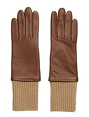 Wool Rib Gloves