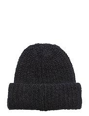 Mohair hat - DK. NAVY