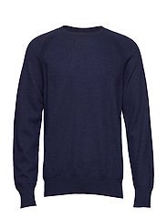 M. Boiled Wool Sweater - NAVY