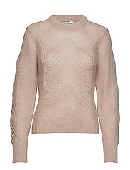 Soft Mohair R-Neck - MOUSSE