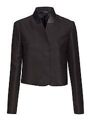 Short Blazer Jacket - BLACK