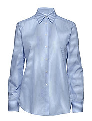 Jane Striped Shirt - BLUE STRIP