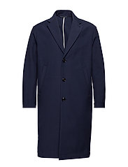 M. Luke Cotton Coat - DK. NAVY