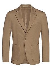 M. Dean Cotton Suit Jacket - TOBACCO