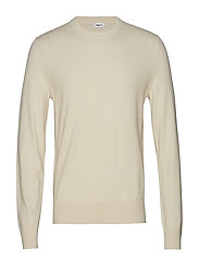 M. Cotton Merino Basic Sweater - BIRCH