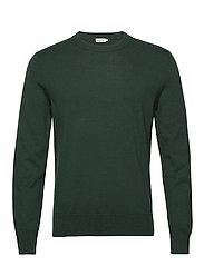 M. Cotton Merino Basic Sweater - FERN