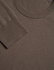 Filippa K - M. Cotton Merino Basic Sweater - basic strik - grey taupe - 2