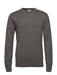 M. Cotton Merino Basic Sweater - PLATOONE