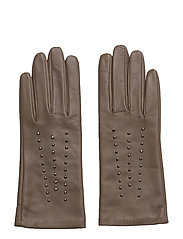 Studded Gloves - TAUPE