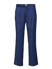 M. Fabian Gabardine Trouser - FLAG BLUE