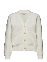 Structured Cardigan - OFF WHITE
