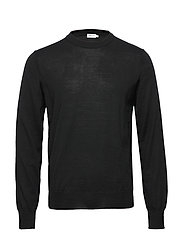 M. Merino Sweater - BLACK