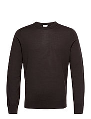 M. Merino Sweater - DARK MOLE