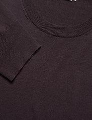 Filippa K - M. Merino Sweater - pulls col rond - dark plum - 2