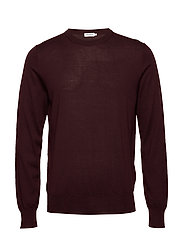 M. Merino Sweater - DEEP SHIRA