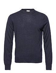 M. Merino Sweater - NAVY