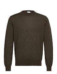 M. Merino Sweater - PINE GREEN