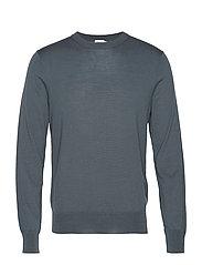 M. Merino Sweater - STONE GREE